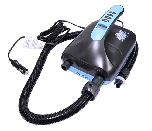 STAR PUMP 8 SUP Pump 12V Super Electric Pump E-Pumpe mit Akku Powerbank - 2
