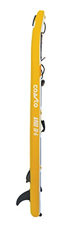 Coasto PB-CARG106 Inflatable Stand Up Paddle Thermal Twin Skin Argo 10 '6, gelb grau schwarz leer - 4