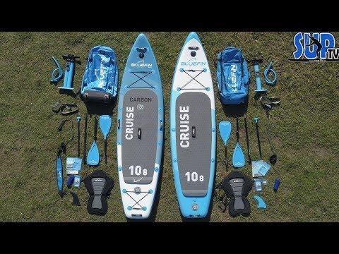 """Bluefin CRUISE & Cruise CARBON 10'8"""" im Vergleich - Wo sind die Unterschiede bei den SUP-Boards? ⚡️"""