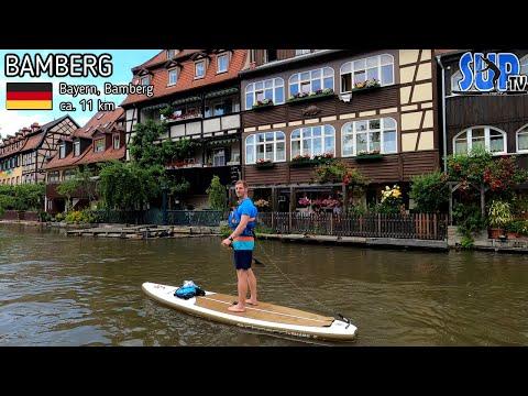 SUP-Tour durch Bamberg | Einmal um die Inselstadt (Klein-Venedig, Altes Rathaus...)