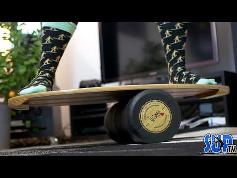 SURFEN im eigenen Wohnzimmer 🏄 Maximaler Spaß zu Hause?! Indoor-Surfboard & Balance-Trainer