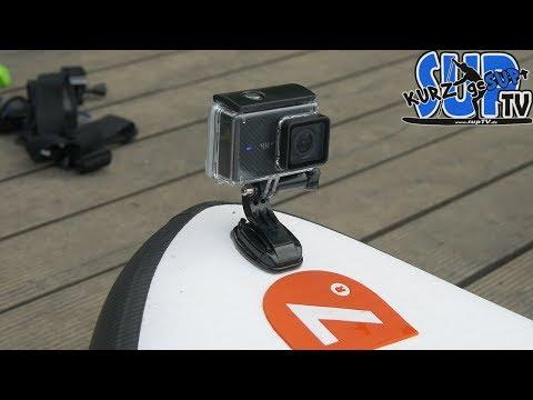 Action Cam auf dem Stand Up Paddle Board anbringen // Anleitung // #kurzgeSUPt #31