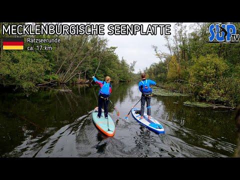 Rätzseerunde auf der Mecklenburgischen Seenplatte   SUP-Tagestour im Oktober 🍂 (ca. 17 km)