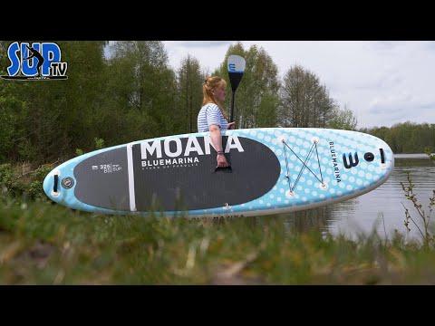 """Bluemarina MOANA 10'8"""" im Test: Das breite, günstige & kippstabile Allround-Board für die Familie!"""