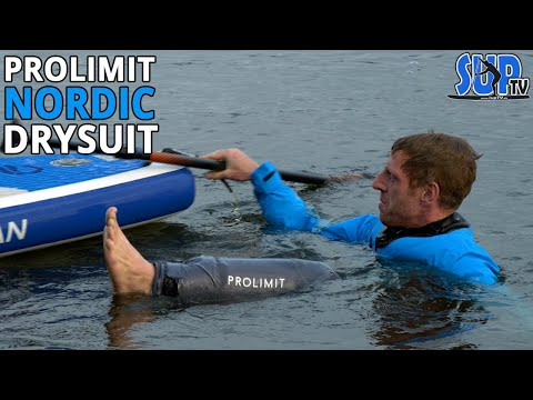 NORDIC SUP Trockenanzug im Test (2020): Robuster Drysuit mit Flex-Panel am Rücken | ProLimit
