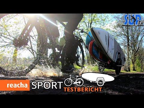 reacha® SPORT im Test: Der EINZIGARTIGE modulare Anhänger zum Transport von Sportequipment! 🚴🏻♀️