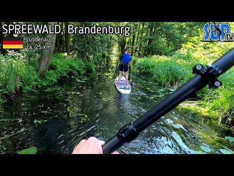 SUP-Tour in den Hochwald (Spreewald): XXL-Tagestour mit ca. 25 km Strecke von Lübbenau!
