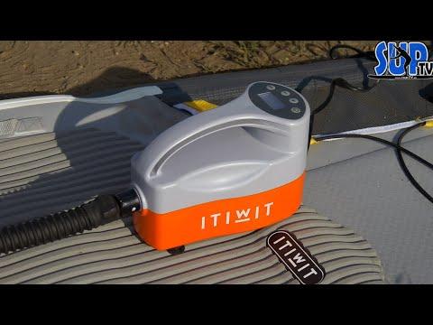 Elektropumpe für SUP-Boards von Decathlon im Test: Was kann die ITIWIT-Pumpe für 50 Euro?