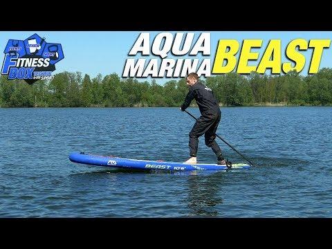 """Aqua Marina BEAST 10'6"""" im Test: Das günstige Allround SUP-Board für Einsteiger & SUP-Anfänger"""