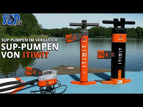 Elektrische SUP Pumpe, Doppel-Hub Pumpe & Triple Action Pumpe im Vergleich | ITIWIT SUP-Pumpen