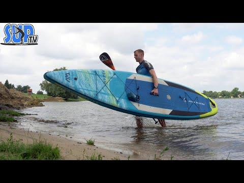 """Aqua Marina HYPER 12'6"""" im Test (2021): Touring-SUP mit Double-Chamber   Update zum Vorgängermodell?"""