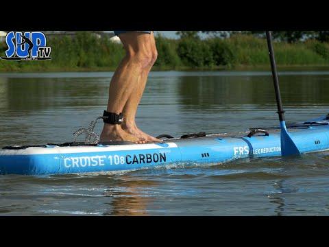 """Bluefin Cruise CARBON 10'8"""" im Test: Zwei Luftkammern & FRS für maximale Steifigkeit?! 🤟🏼"""