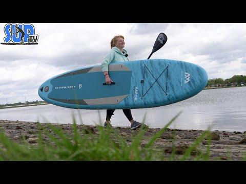 """Aqua Marina VAPOR 10'4"""" im Test (2021): Das günstige Einsteiger-Allround iSUP für leichte Paddler!"""