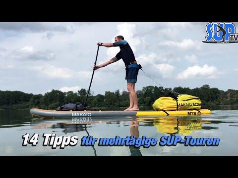 14 Tipps für mehrtägige SUP-Touren - Stand Up Paddling // SUPventure ⛺️