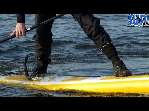 Bekleidung für die Füße beim Stand Up Paddling mit kalten Wassertemperaturen 💦 | Frühjahr & Winter