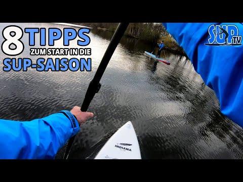 8 Tipps zum Start in die SUP-Saison | SUP-Bekleidung, Sicherheit, Wetter, Ziele & Billig-Boards 🏄🏼