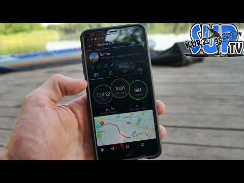 SUP-Tour mit GPS-Sportuhr oder App zuverlässig aufzeichnen // Varianten & Favoriten #kurzgeSUPt #32
