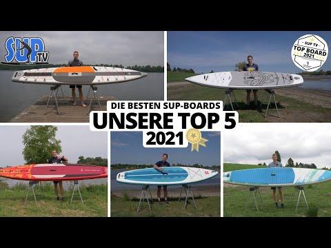 Die FÜNF BESTEN iSUP-Boards 2021 | Das ist UNSERE persönliche TOP 5