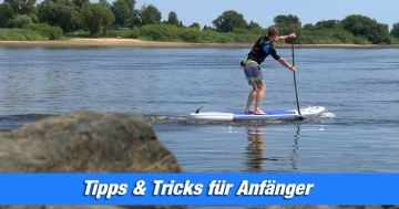 Anfänger Tipps SUP Stand Up Paddling