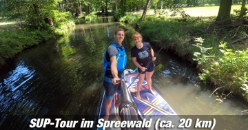 SUP im Spreewald