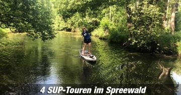 Tourenvorschläge SUP Spreewald