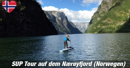 SUP in Norwegen