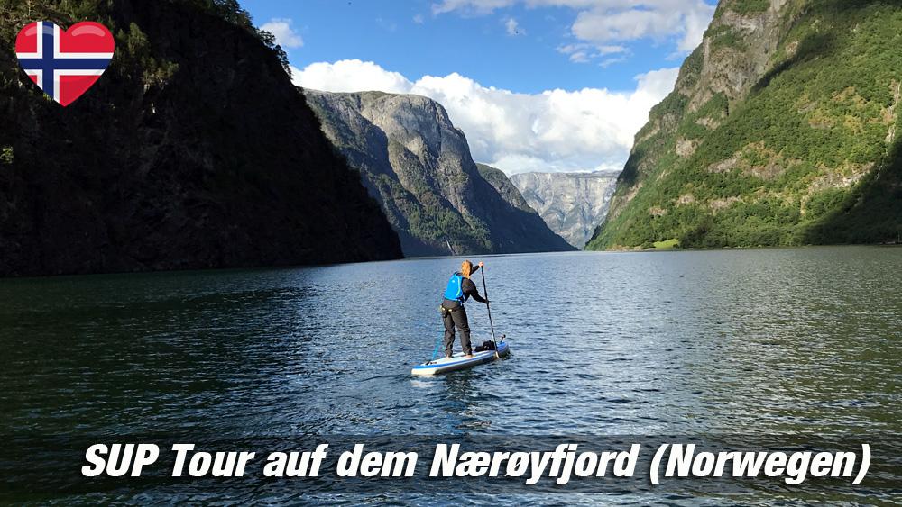 SUP in Norwegen