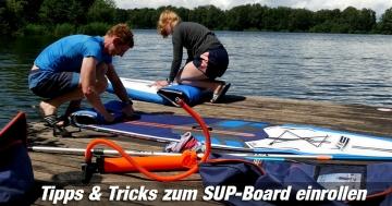 SUP-Board einpacken Tipps & Tricks