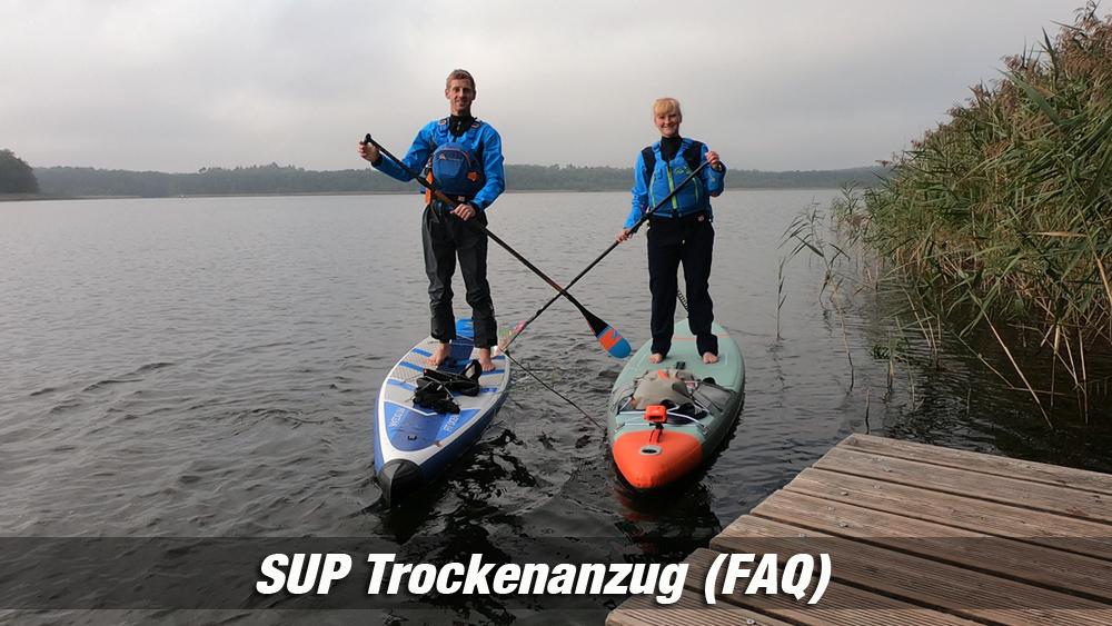 SUP Trockenanzug FAQ