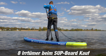 Irrtümer SUP-Board Kauf