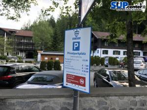 Parkplatz Eibsee