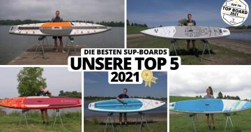 SUP-Board Test: Die besten SUP-Boards 2021