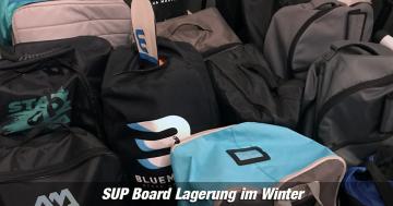Lagerung SUP Winter